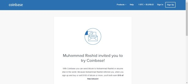 coinbase-sign-up-page